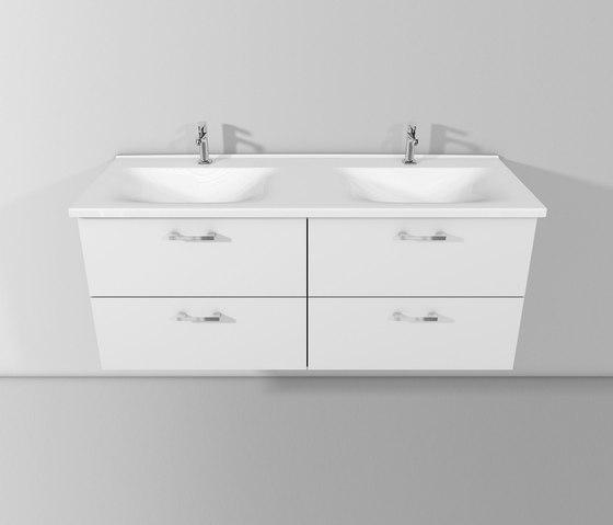 Sys30 | Ceramic washbasin incl. vanity unit di burgbad | Mobili lavabo