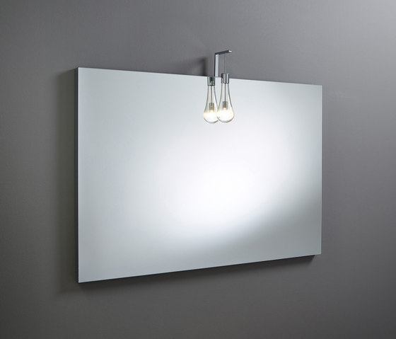 Sys30 | Mirror made to measure ACDL010 LED pendant light by burgbad | Bath mirrors