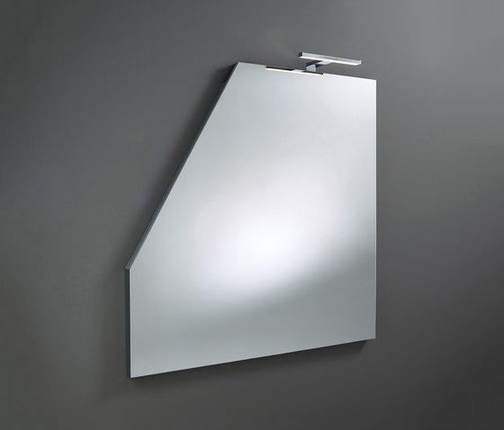 Sys30 | Mirror made to measure ACDJ030 LED lighting top di burgbad | Specchi da bagno