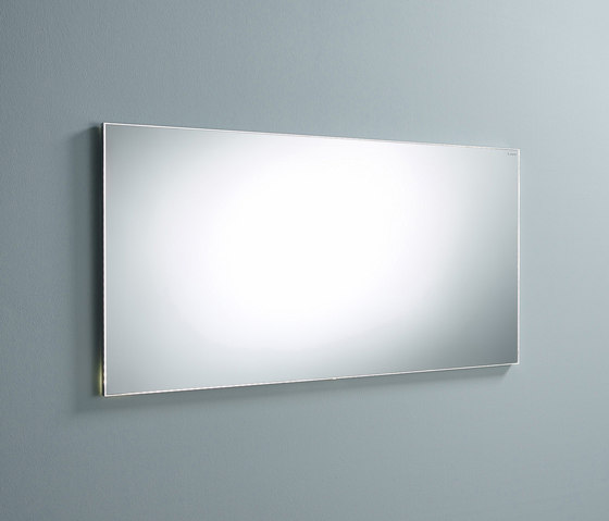 Sys30 | Mirror with circulating LED-lighting by burgbad | Bath mirrors
