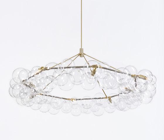 Wreath Bubble Chandelier de PELLE | Éclairage général
