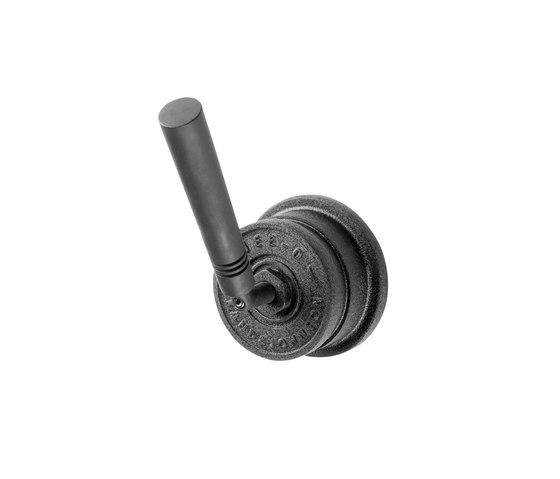 JEE-O soho mixer (valve two-way) - hammercoated black by JEE-O | Wash basin taps