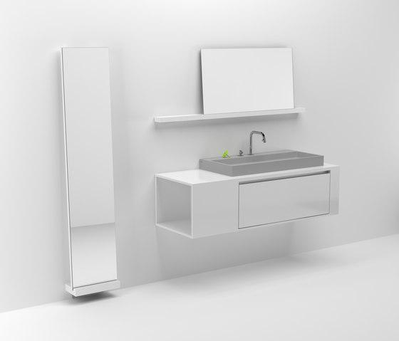 Wash Me dressing mirror CL/08.51.101.62 de Clou | Espejos