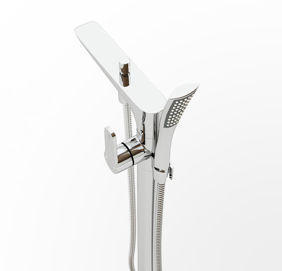 Xo freestanding bath mixer CL/06.04005.29 by Clou | Bath taps