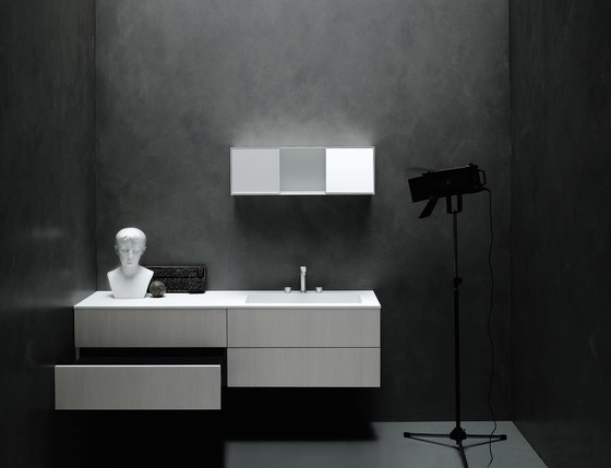 Simple di Boffi | Mobili lavabo
