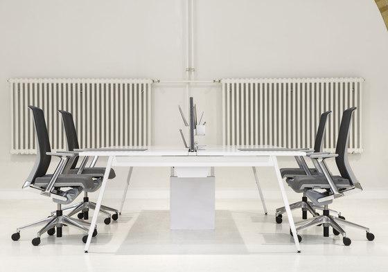 Intuity de Haworth | Sistemas de mesas