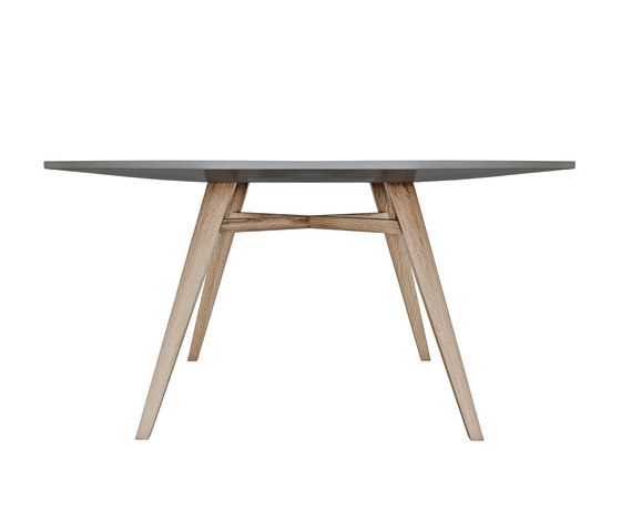 Tavolarte | table round by strasserthun. | Dining tables