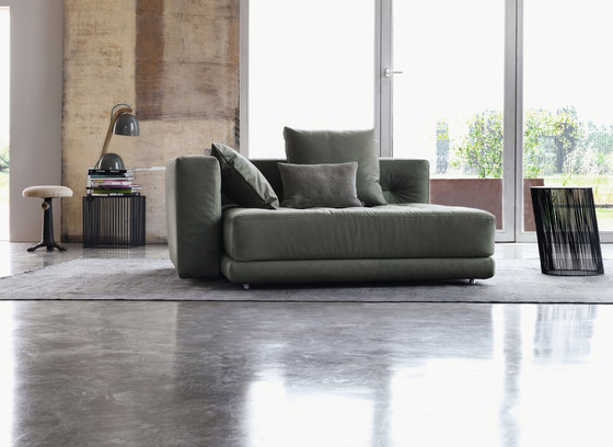 Doze sistema Comfort componible de Flou | Elementos asientos modulares