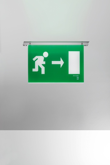 Leb recessed by Artemide Architectural   Emergency lights