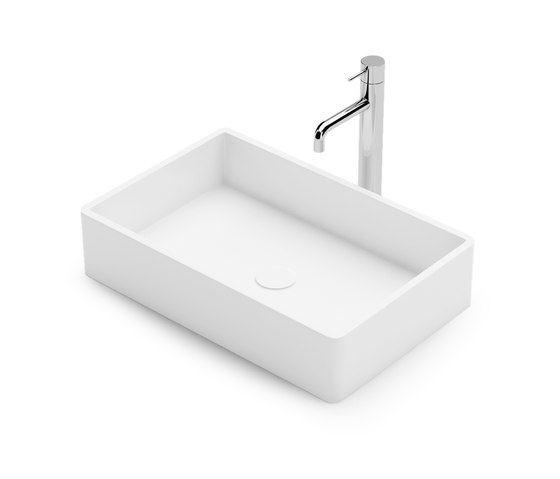 Rectangle by Vallone | Wash basins