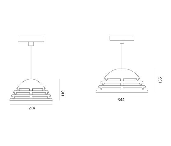 Incipit Suspension di Artemide Architectural | Lampade sospensione