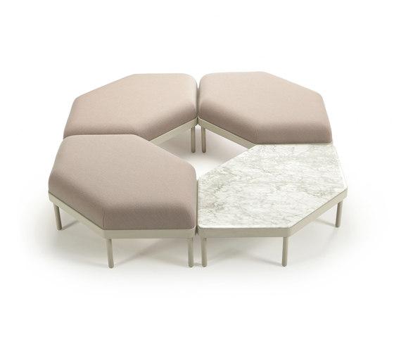 Mosaico di Sancal | Sistemi di sedute componibili