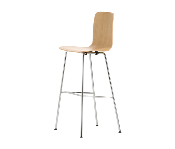 HAL Ply Stool High di Vitra | Sgabelli bar