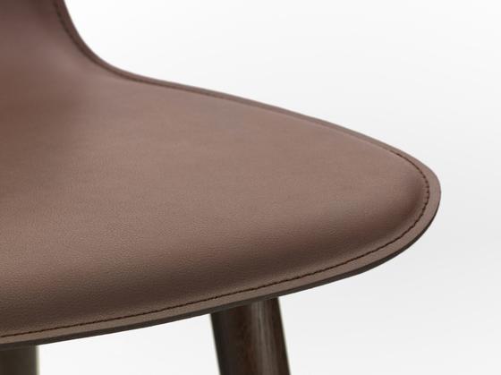 HAL Leather Wood de Vitra | Sillas de visita