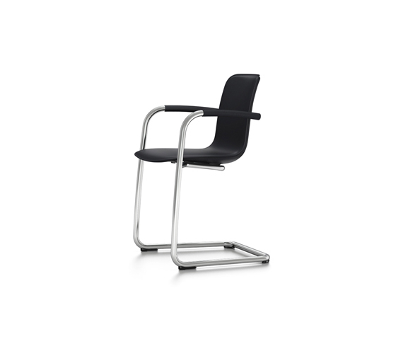 HAL Leather Cantilever Armrest di Vitra | Sedie