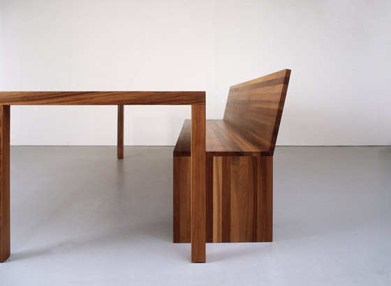 FORMAT bench by Sanktjohanser | Tables and benches