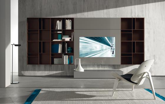 N.C. SMARTWALL by Acerbis | Multimedia sideboards