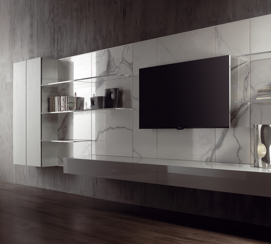N.C. LANDSCAPE by Acerbis | Wall storage systems