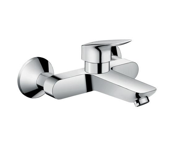Hansgrohe Logis Single lever basin mixer wall-mounted by Hansgrohe   Wash-basin taps