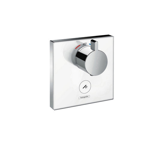 hansgrohe ShowerSelect Thermostatic mixer highflow for concealed installation for 1 outlet and additional outlet by Hansgrohe | Shower taps / mixers