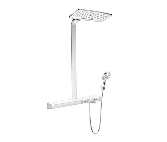 hansgrohe rainmaker select 420 2jet showerpipe shower. Black Bedroom Furniture Sets. Home Design Ideas