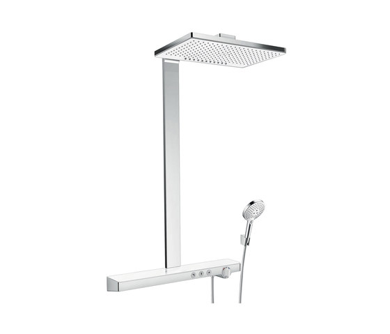 hansgrohe Rainmaker Select 460 2jet Showerpipe EcoSmart 9 l/min by Hansgrohe | Shower controls