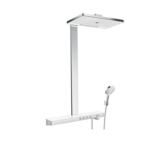 hansgrohe Rainmaker Select 460 3jet Showerpipe EcoSmart 9 l/min by Hansgrohe | Shower controls