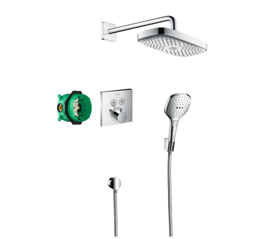 hansgrohe Design ShowerSet Raindance Select E / ShowerSelect by Hansgrohe | Bathroom taps accessories