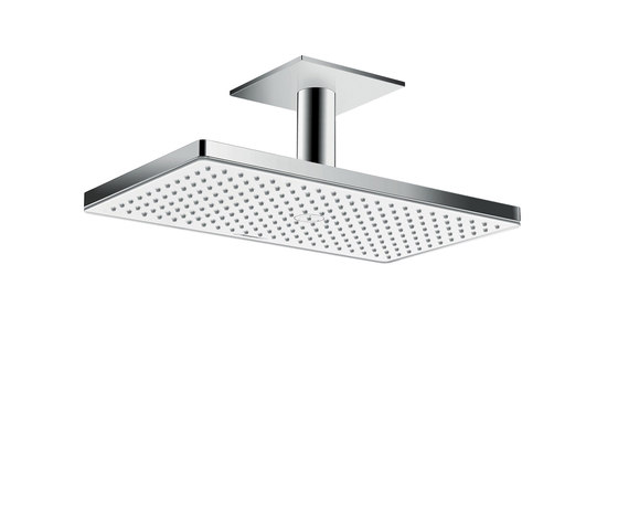 hansgrohe Rainmaker Select 460 1jet overhead shower EcoSmart 9 l/min with ceiling connector 100 mm by Hansgrohe   Shower controls