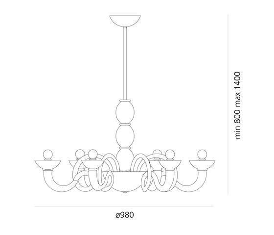 Pantalica Suspension Lamp by Artemide | Chandeliers