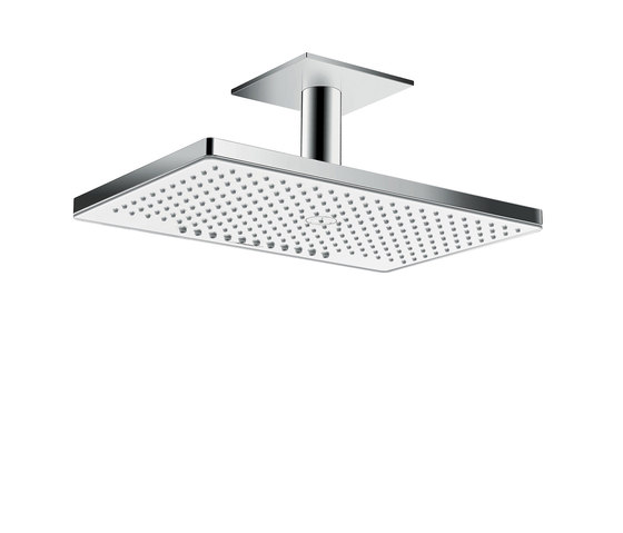 hansgrohe Rainmaker Select 460 2jet overhead shower EcoSmart 9 l/ min with ceiling connector 100 mm by Hansgrohe | Shower controls