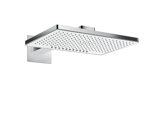 hansgrohe Rainmaker Select 460 2jet overhead shower EcoSmart 9 l/min with shower arm 450 mm by Hansgrohe   Shower controls