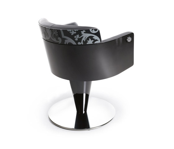 Aida Wood | MG BROSS Styling Salon Chair by GAMMA & BROSS | Barber chairs