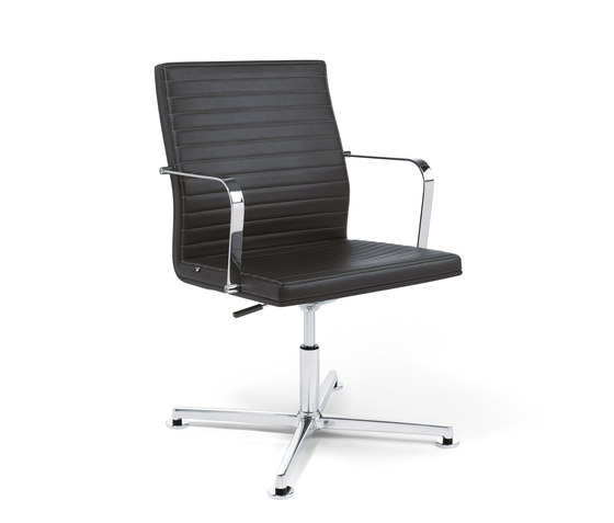 Pure Conference Chair Low Backrest by Viasit | Chairs