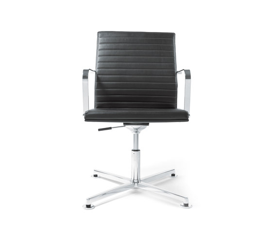 Pure Conference Chair Low Backrest by viasit | Conference chairs