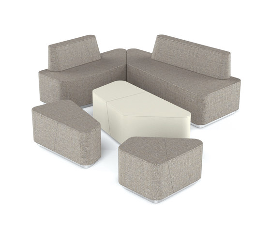 Organic Office Lounge Modules by Viasit | Sofas