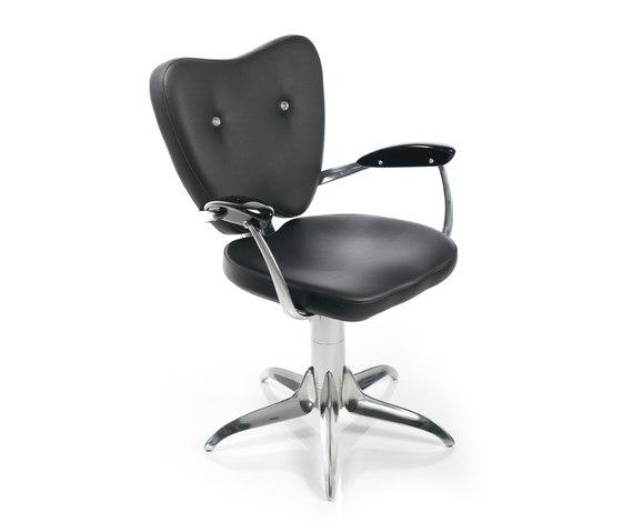 Man Ray Swarovski   GIUGIARO DESIGN Styling Salon Chair by GAMMA & BROSS   Barber chairs