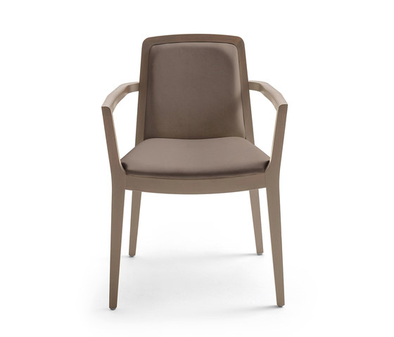 Sidney armchair by Varaschin | Visitors chairs / Side chairs