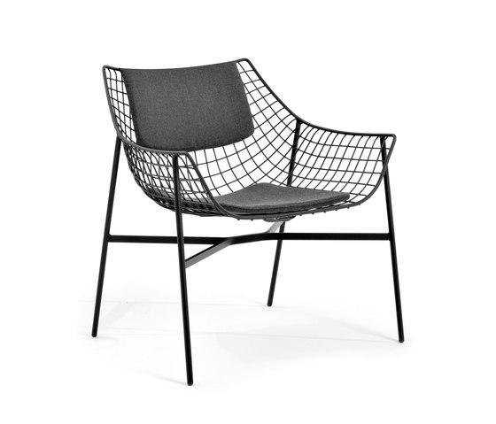 Summerset lounge chair by Varaschin | Garden armchairs