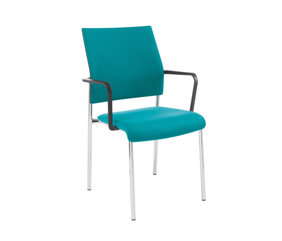 Qubo Four legged chair by Viasit   Chairs