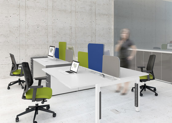 Yan C by MDD | Desking systems