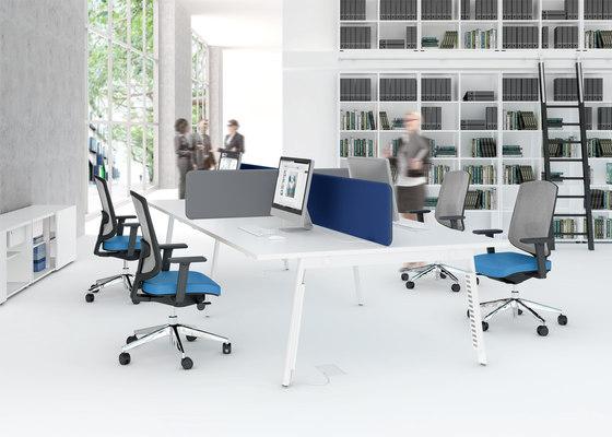 Yan M by MDD | Desking systems
