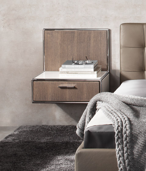 Wall-mounted bedside table di Dauphin Home | Comodini