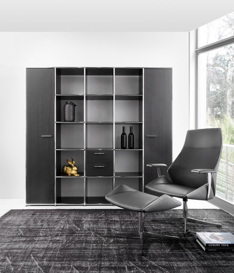 shelving wall syst mes d 39 tag res de dauphin home architonic. Black Bedroom Furniture Sets. Home Design Ideas