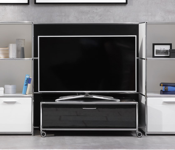 TV-Trolley by Dauphin Home | Multimedia trolleys