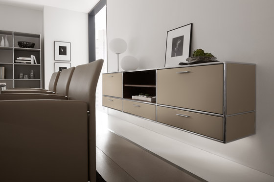 Wall-mounted sideboard by Dauphin Home | Shelving