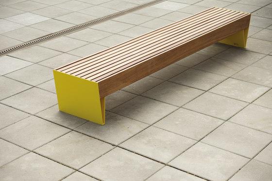 blocq   Park bench by mmcité   Benches