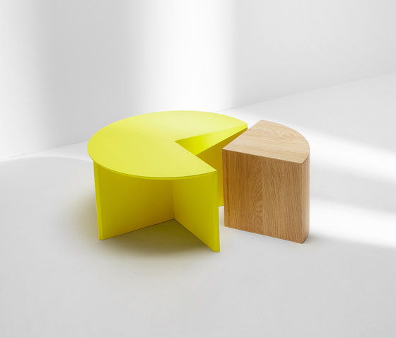 Pie chart system | Combination by H Furniture | Coffee tables