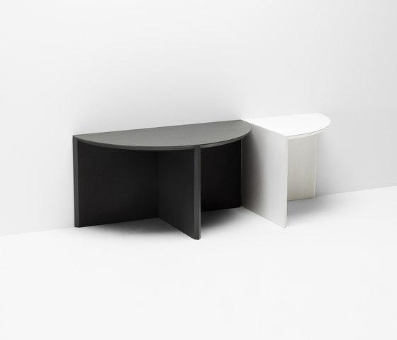 Pie chart system | Combination de H Furniture | Mesas de centro