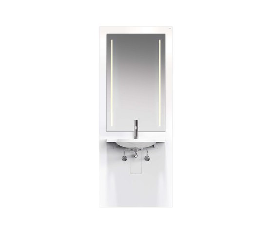 Washbasin module   S50.01.212010 by HEWI   Bath shelving